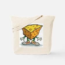Funny Cheesehead Tote Bag