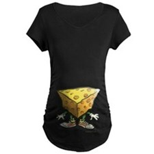 Cheese Head DRK Maternity T-Shirt