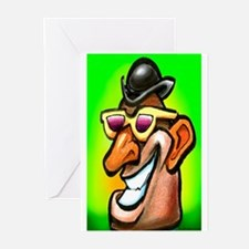 Cute Mr potato head Greeting Cards (Pk of 10)