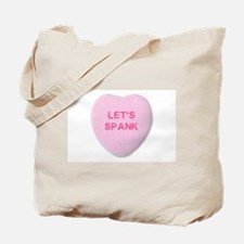 Let's Spank Tote Bag