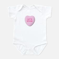 Let's Spank Infant Bodysuit