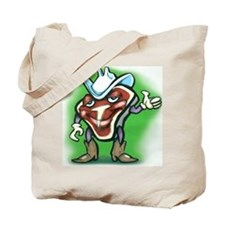 Funny Steak Tote Bag