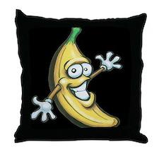 Unique Fruits Throw Pillow