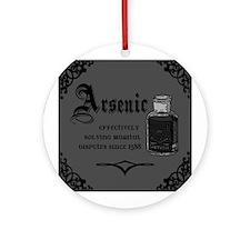 Unique Arsenic Ornament (Round)