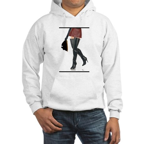 Dominatrix with Hood Hooded Sweatshirt