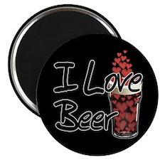 I Love Beer v2 Magnet