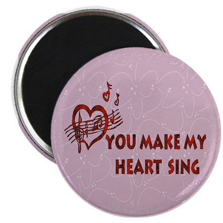 Heart Song Valentine Magnet