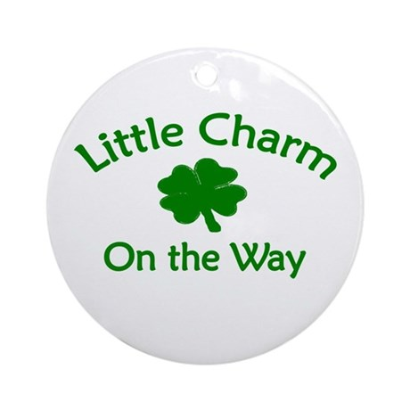 Little Charm Ornament (Round)