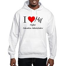 I Heart My Higher Education Administrator Hoodie