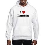 I Love Landon Hooded Sweatshirt