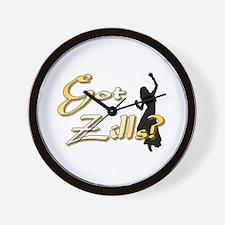 Golden Zills Wall Clock
