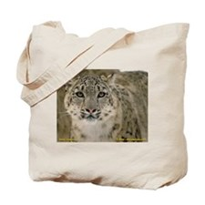 Unique Snow leopard cub Tote Bag