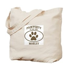 Pawperty of MARLEY Tote Bag