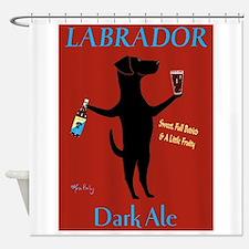 Labrador Dark Ale Shower Curtain