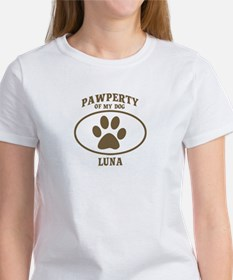 Pawperty of LUNA Tee