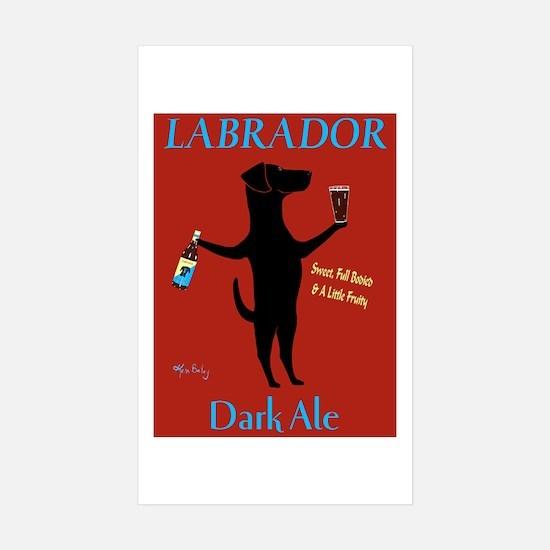 Labrador Dark Ale Sticker (Rectangle 10 pk)