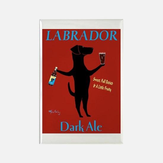Labrador Dark Ale Rectangle Magnet