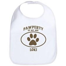 Pawperty of LOKI Bib