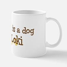 Grandson named Loki Mug