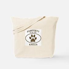 Pawperty of KAHLUA Tote Bag