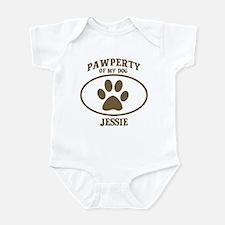 Pawperty of JESSIE Infant Bodysuit