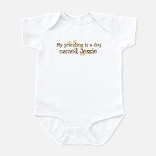 Grandson named Jessie Infant Bodysuit