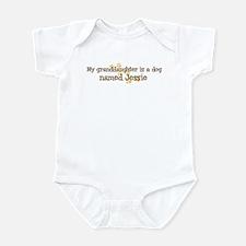 Granddaughter named Jessie Infant Bodysuit