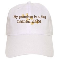 Grandson named Jake Baseball Cap