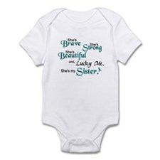 Lucky Me 1 (Sister OC) Infant Bodysuit