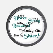 Lucky Me 1 (Sister OC) Wall Clock