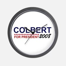 Colbert for President Wall Clock