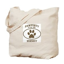 Pawperty of HERSHEY Tote Bag