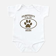 Pawperty of HEIDI Infant Bodysuit