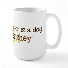 Granddaughter named Hershey Mug