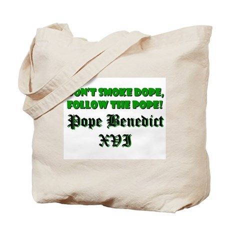 POPE BENEDICT 16 XVI Tote Bag