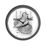 Ideal English Trumpeter Wall Clock