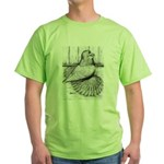 Ideal English Trumpeter Green T-Shirt