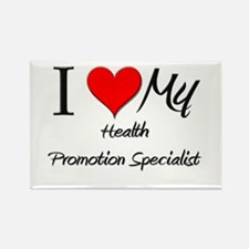 I Heart My Health Promotion Specialist Rectangle M