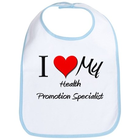 I Heart My Health Promotion Specialist Bib