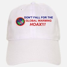 Global Warming Hoax Baseball Baseball Cap