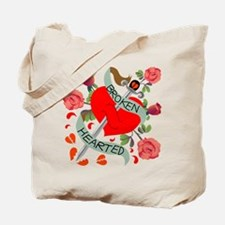 Broken Hearted Tattoo Tote Bag