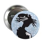 "Japanese Geisha Art 2.25"" Button (10 pack)"