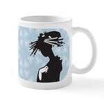 Japanese Geisha Art Ceramic Coffee Mug