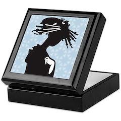 Japanese Geisha Art Keepsake Box