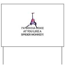 Talladega Nights - Spider Monkey Yard Sign
