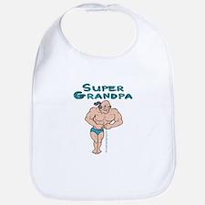 Super Grandpa Gifts Bib
