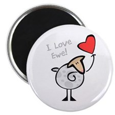 "I Love Ewe 2.25"" Magnet (10 pack)"