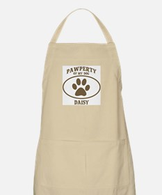 Pawperty of DAISY BBQ Apron