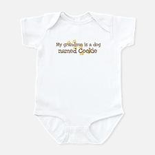 Grandson named Cookie Infant Bodysuit