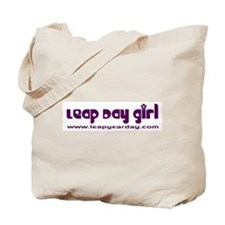 Leap Day Girl Tote Bag